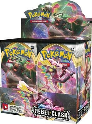 Pre-Order: POKÉMON TCG Sword and Shield- Rebel Clash Booster- Single Pack