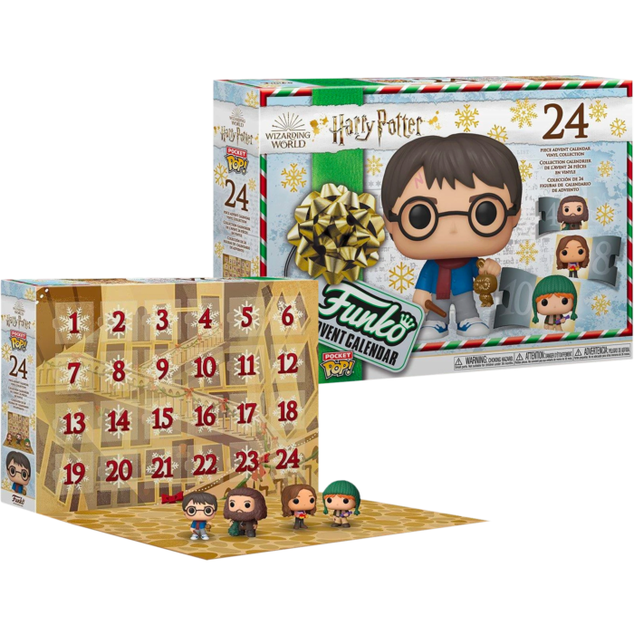​Harry Potter - Holiday Pocket Pop! Vinyl Advent Calendar