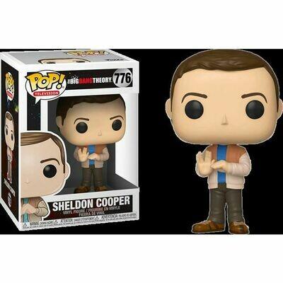 The Big Bang Theory - Sheldon Cooper in Rock, Paper, Scissors, Lizard, Spock Pose Pop! Vinyl Figure