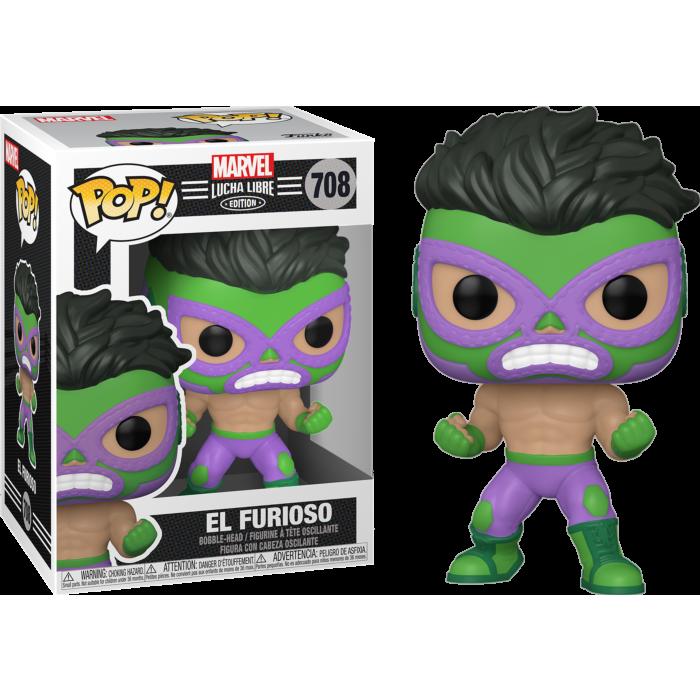 Marvel: Lucha Libre Edition - El Furioso Hulk Pop! Vinyl Figure