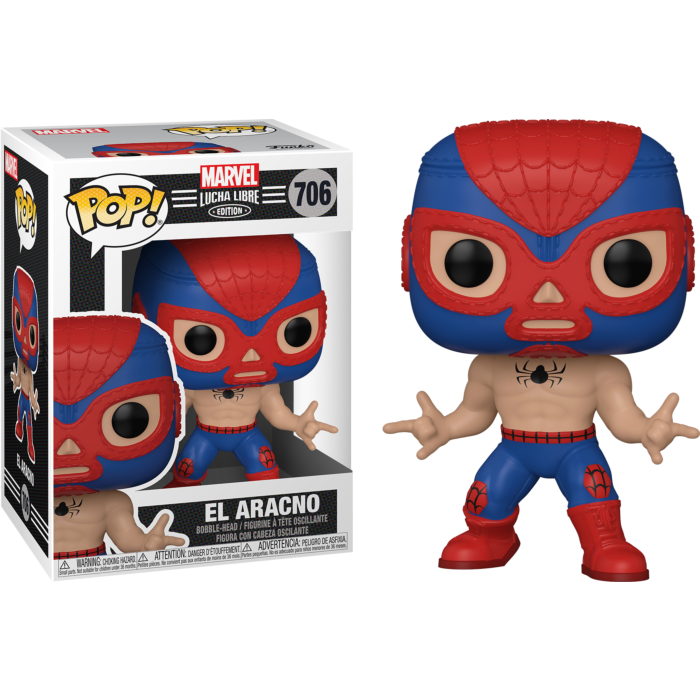 Marvel: Lucha Libre Edition - El Aracno Spider-Man Pop! Vinyl Figure