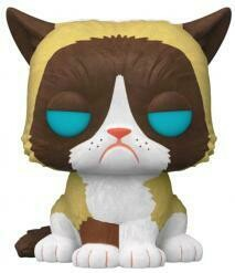 Icons - Grumpy Cat Flocked US Exclusive Pop! Vinyl