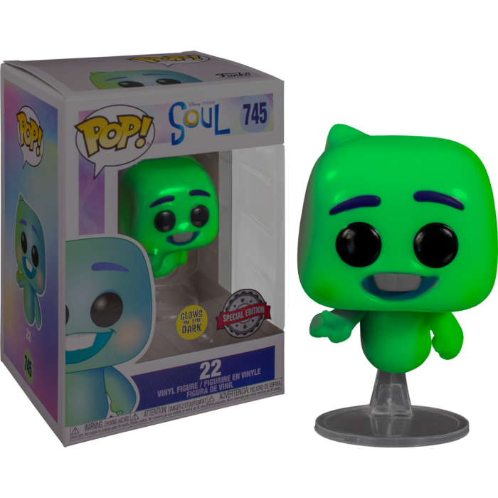 Soul (2020) - 22 Glow in the Dark Pop! Vinyl Figure
