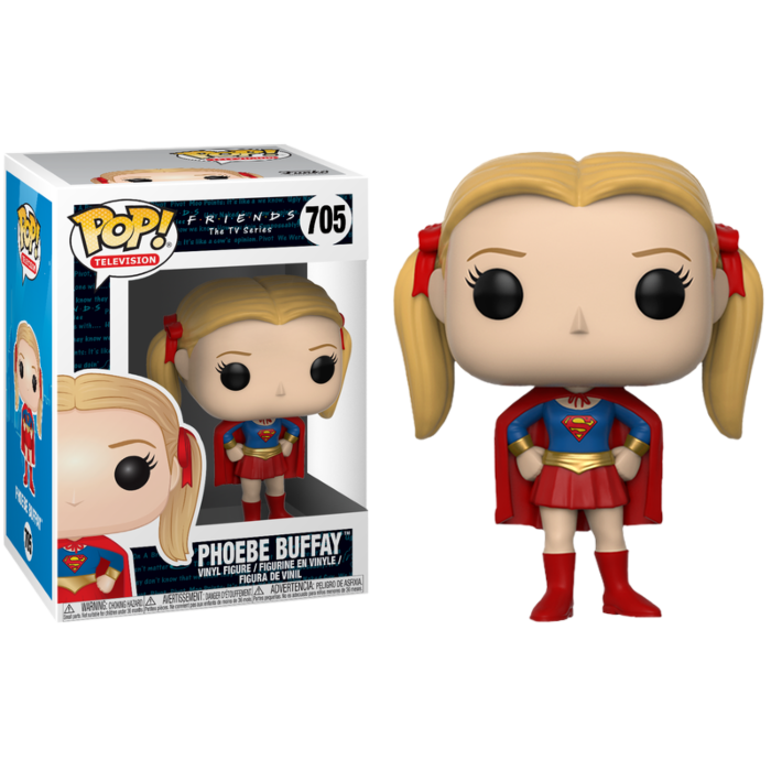 Friends - Phoebe Buffay as Supergirl Pop! Vinyl Figure