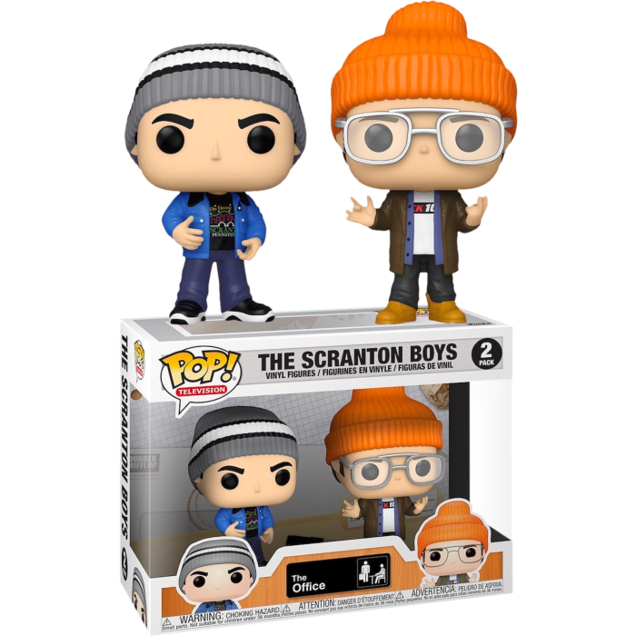 The Office - Scranton Boys Pop! Vinyl Figure 2-Pack