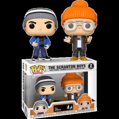 The Office - Scranton Boys Pop! Vinyl Figure 2-Pack