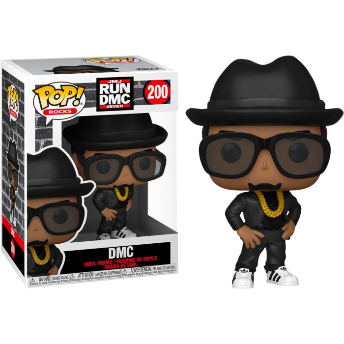 Run-DMC - DMC Pop! Vinyl Figure