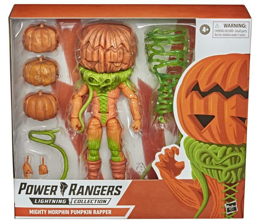 Pre-Order: Hasbro Mighty Morphin Power Rangers Lightning Collection Pumpkin Rapper