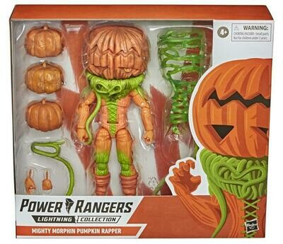 Hasbro Mighty Morphin Power Rangers Lightning Collection Pumpkin Rapper