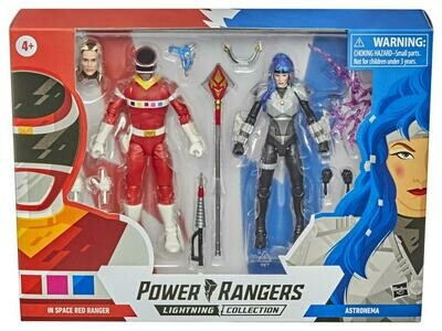 Hasbro Power Rangers Lightning Collection Red Ranger VS Astronema Two-Pack