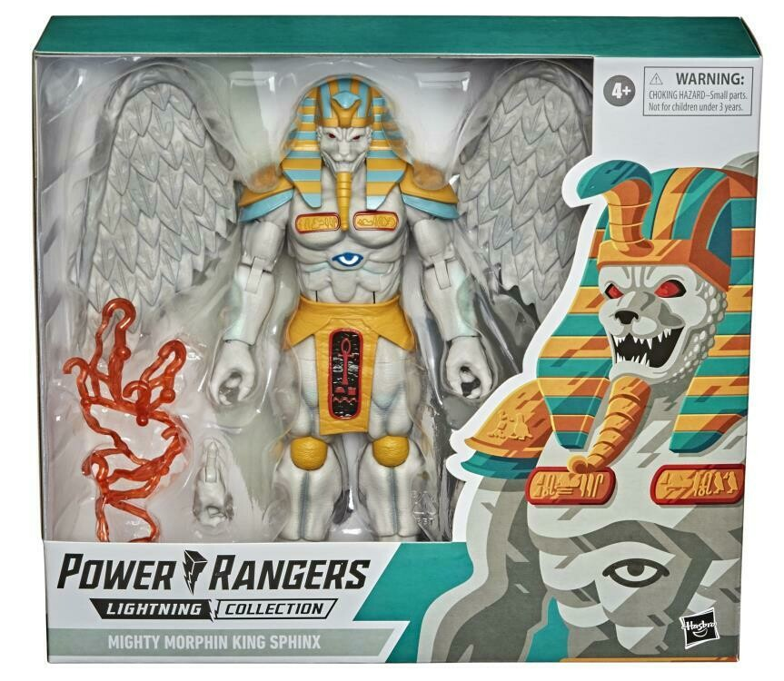 Hasbro Mighty Morphin Power Rangers Lightning Collection King Sphinx