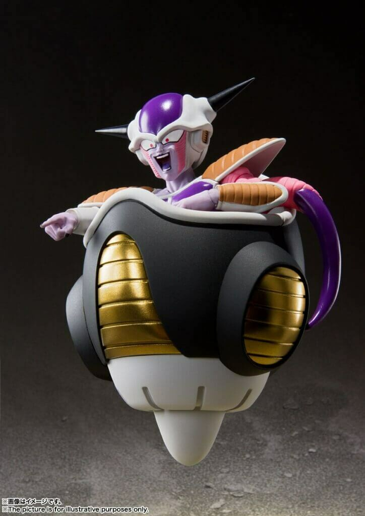 Pre-Order: S.H.FIGUARTS First Form & Frieza Pod Set