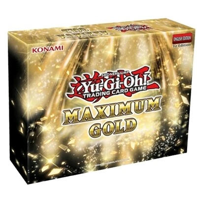 Yu-Gi-Oh! Maximum Gold Box Set