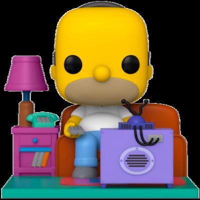 Pre-order: The Simpsons - Homer watching TV Deluxe Pop! Vinyl Figure