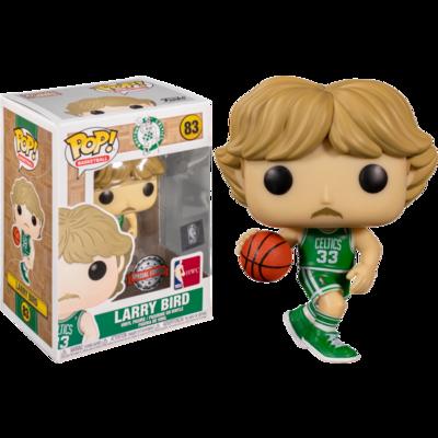 NBA Basketball - Larry Bird Boston Celtics Away Jersey Pop! Vinyl Figure