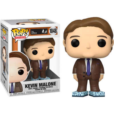 The Office - Kevin with Tissue Box Shoes Pop! Vinyl Figure