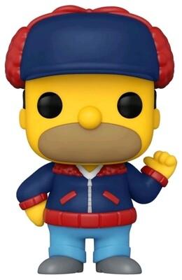 Pre-Order: The Simpsons - Homer Mr Plow US Exclusive Pop! Vinyl Figure
