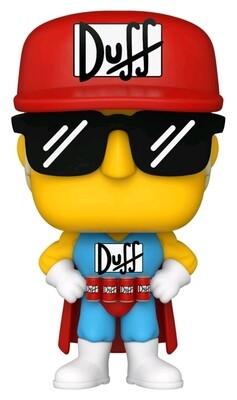 Pre-Order: The Simpsons - Duffman Pop! Vinyl Figure