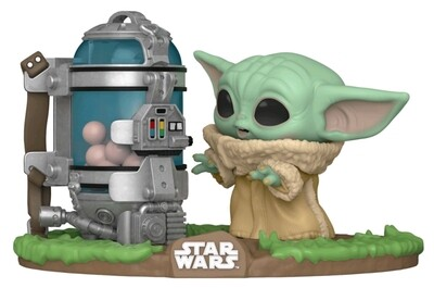 Pre-Order: Star Wars: The Mandalorian - Child with Egg Canister Pop! Deluxe Figure