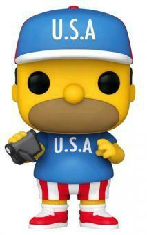 Pre-Order: The Simpsons - Homer USA Pop! Vinyl Figure
