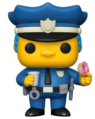 Pre-Order: The Simpsons - Chief Wiggum Pop! Vinyl Figure