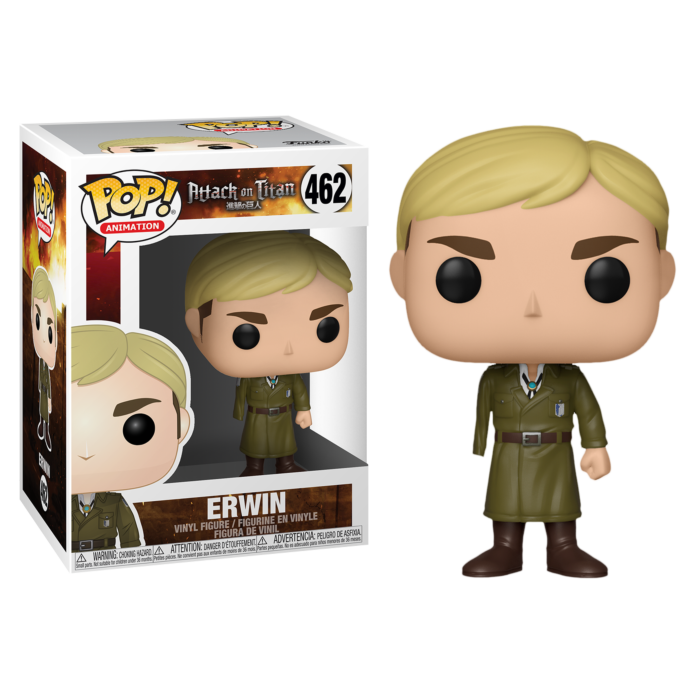 Attack on Titan - One-Armed Erwin Pop! Vinyl Figure