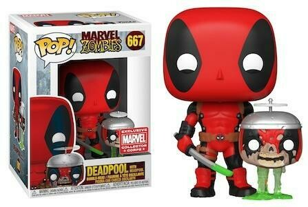 Marvel Collector Corp Box - Deadpool Zombie Pop! Vinyl Figure