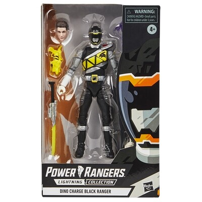 Dino Charge's Black Ranger Lightning Collection Figure