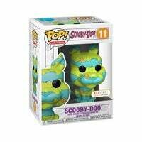 Scooby Doo Art Series Pop! Vinyl Figure Box Lunch Exclusive with hard case protector