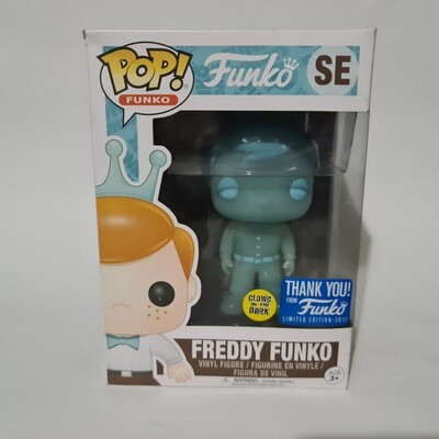 Funko Freddy - Freddy Funko Thank You Holographic Exclusive Pop Vinyl Glow in the dark