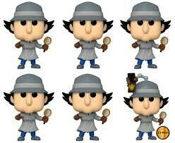Inspector Gadget - Gadget chase Pop! Vinyl Figure Bundle of 6 (set of 6)