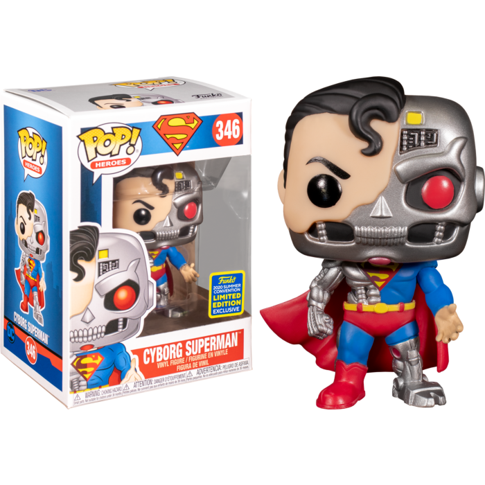 Superman - Cyborg Superman Pop! Vinyl Figure (2020 Summer Convention Exclusive)