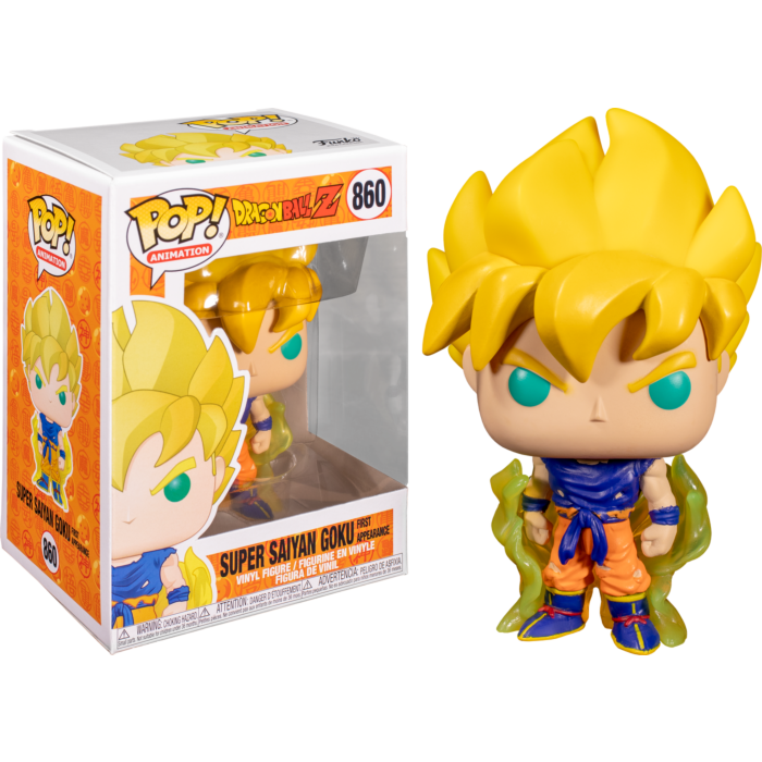 Dragon Ball Z - Goku Super Saiyan First Appearance Pop! Vinyl Figure