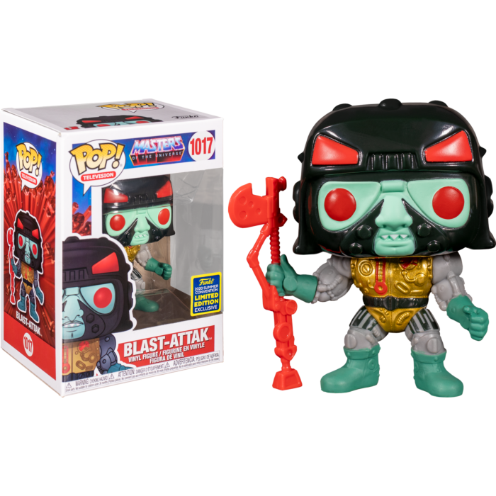 Masters of the Universe - Blast-Attak Pop! Vinyl Figure (2020 Summer Convention Exclusive)
