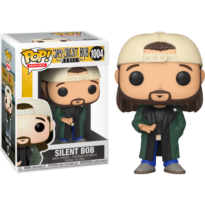 Jay & Silent Bob - Silent Bob US Exclusive Pop! Vinyl Figure