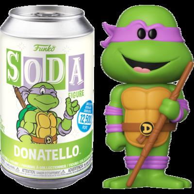 Teenage Mutant Ninja Turtles - Donatello Vinyl SODA Figure in Collector Can Sealed case of 6