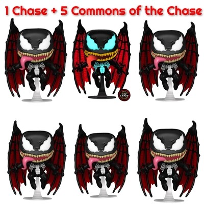 Venom - Venom with Wings Chase Pop! Vinyl Figure bundle of 6 (set of 6)​​