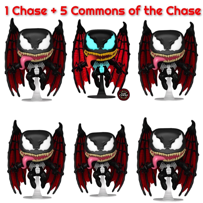 Pre-ordee: Venom - Venom with Wings Chase Pop! Vinyl Figure bundle of 6 (set of 6)
