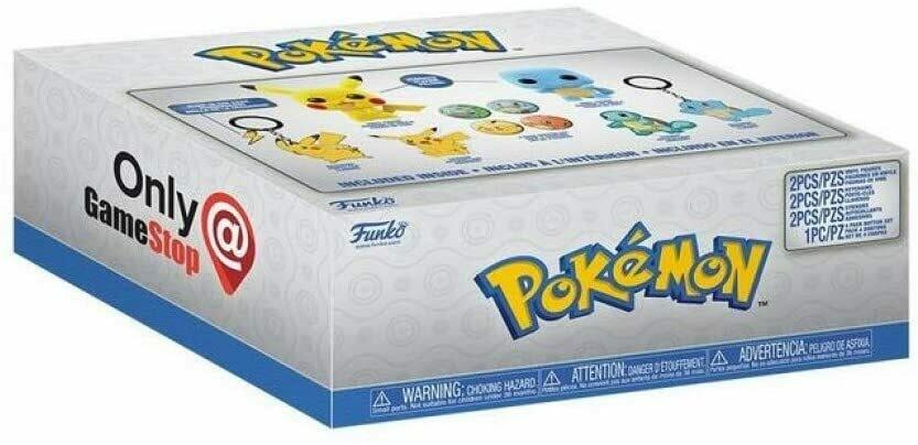 POKEMON - EXCLUSIVE COLLECTOR BOX POP VINYL- Gamestop sticker!