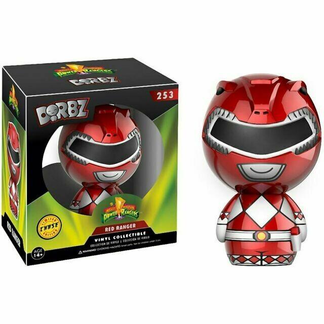 Mighty Morphin' Power Rangers Red Ranger Dorbz Vinyl Figure CHASE VARIANT