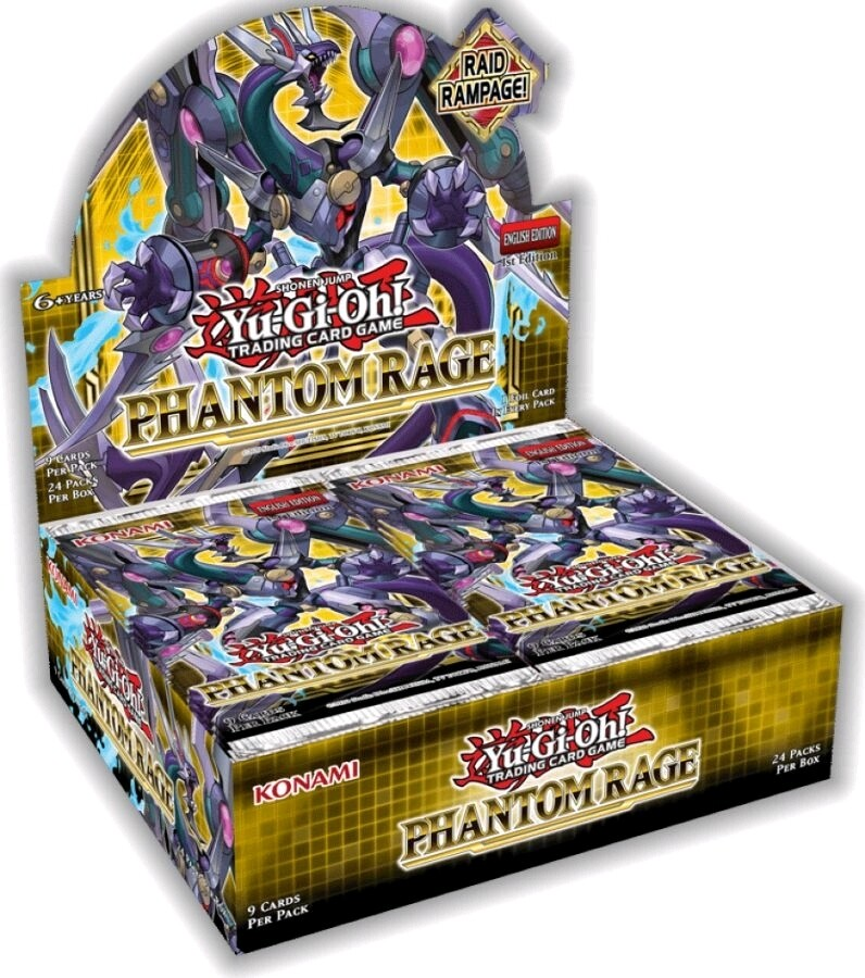 Yu-Gi-Oh! - Phantom Rage Booster Display Sealed Box (24 Boosters)