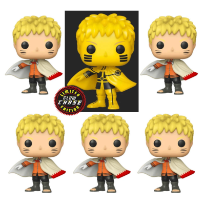 Boruto: Naruto Next Generations - Naruto Hokage Chase Pop! Vinyl Figure Bundle of 6 (set of 6)