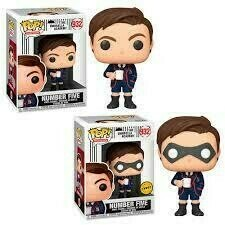 The Umbrella Academy - Number Five Pop! Vinyl Figure Bundle of 6 (set of 6)​