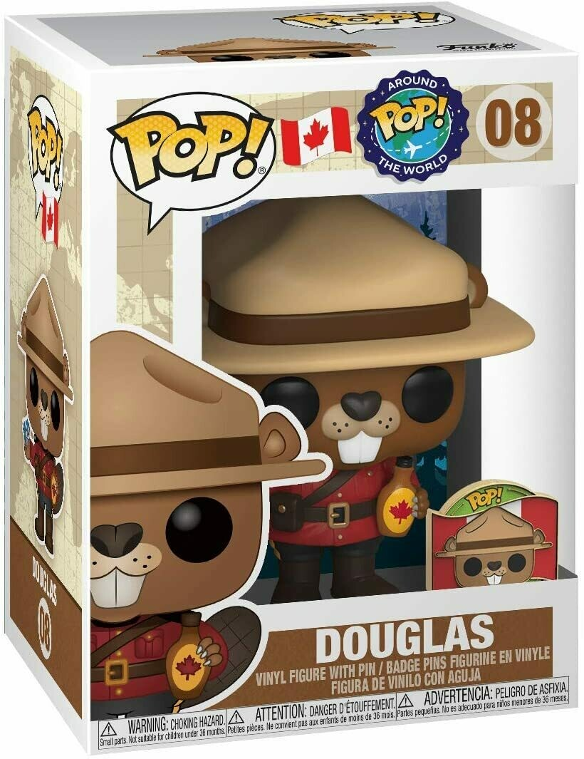 Pre-Order: Around The World - Douglas Canada with Pin Pop! Vinyl Figure
