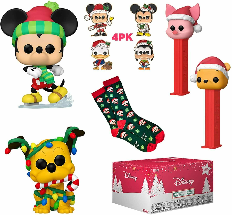 Pre-Order: Disney Holiday Collectors Box - with 2 Pop! Vinyl Figures