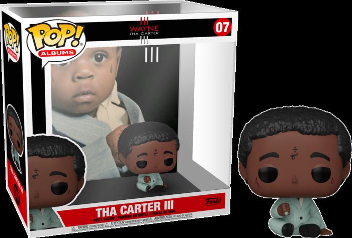 Lil Wayne - Tha Carter III Pop! Albums Vinyl Figure