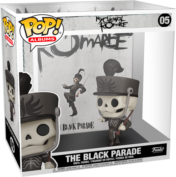 Pre-Order: My Chemical Romance - The Black Parade Pop! Albums Vinyl Figure
