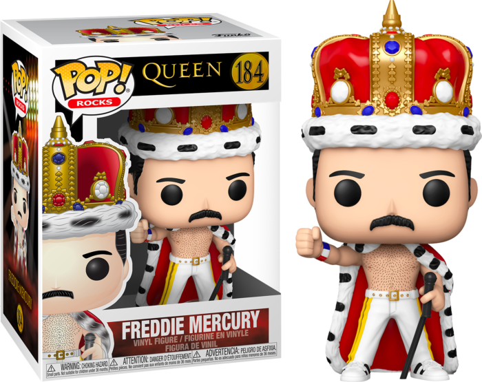 Queen - Freddie Mercury King Pop! Vinyl Figure