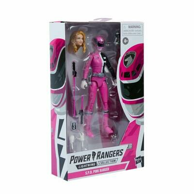 Hasbro Power Rangers Lightning Collection S.P.D. Pink Ranger Figure