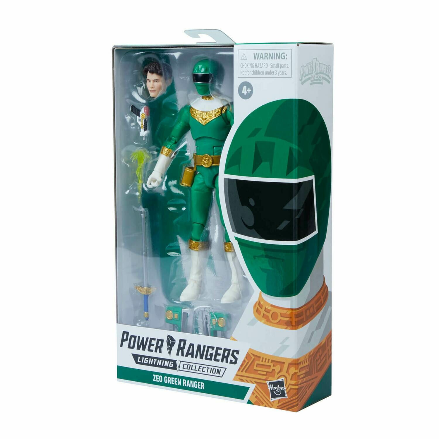 Pre-Order: Hasbro Power Rangers Lightning Collection Zeo IV Green Ranger Figure